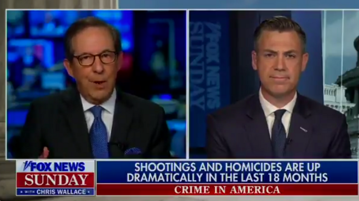 Fox News' Chris Wallace asks GOP rep: Who's really defunding the police — and he brings the receipts