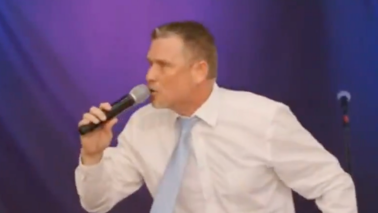 'I'm already crazy!': QAnon pastor goes on delusional rant about sex trafficking in secret DC tunnels