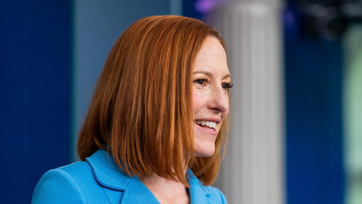 White House's Jen Psaki patiently explains to a Fox News reporter about the First Amendment