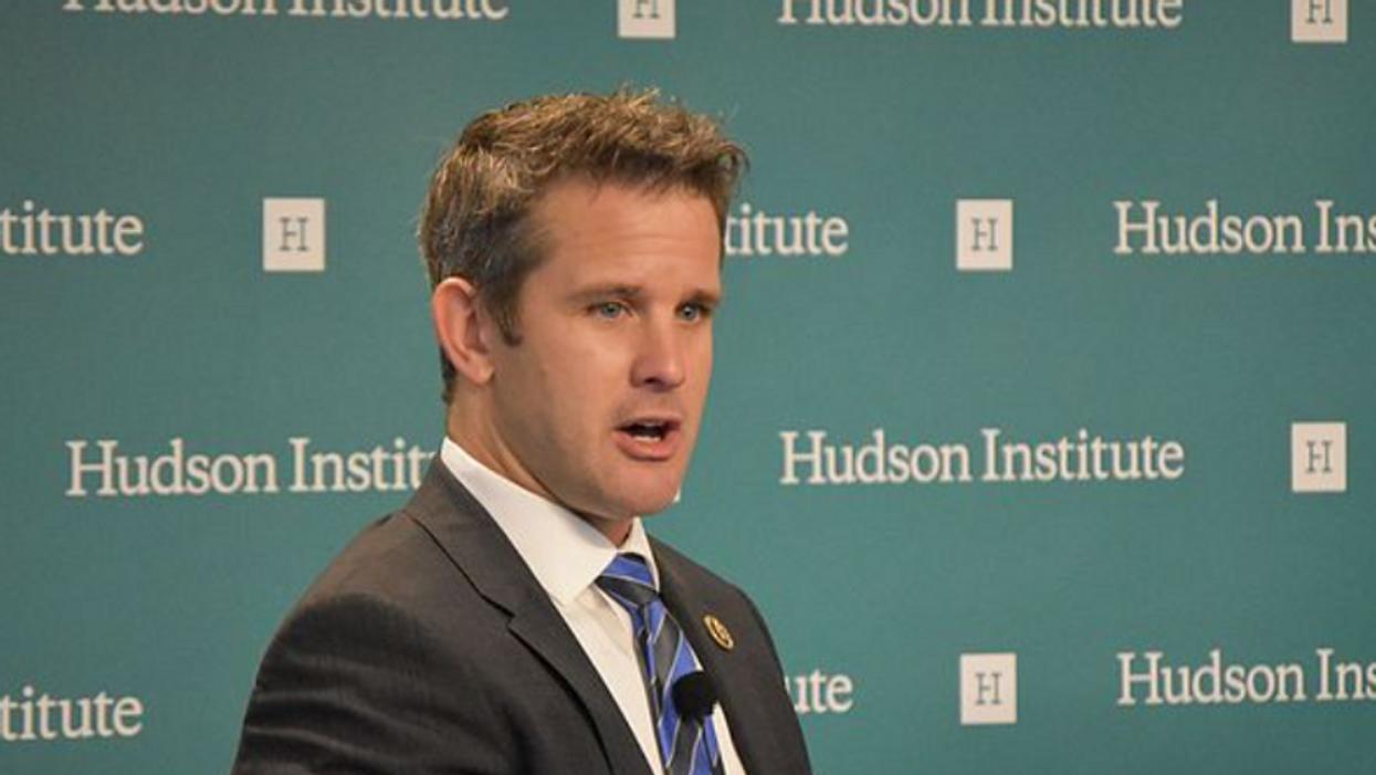 Adam Kinzinger slams 'tough guy' GOPers claiming door-to-door vaccines are threatening