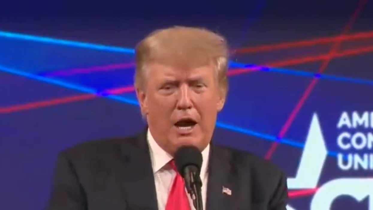 In a surreal moment, Trump told the truth about his lies at CPAC