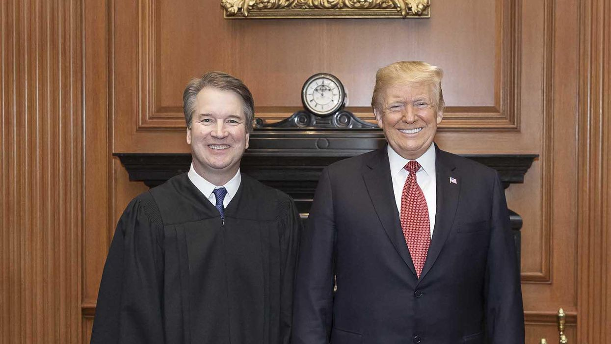 Trump goes off on Justice Brett Kavanaugh in a new interview: 'Totally disgraced'