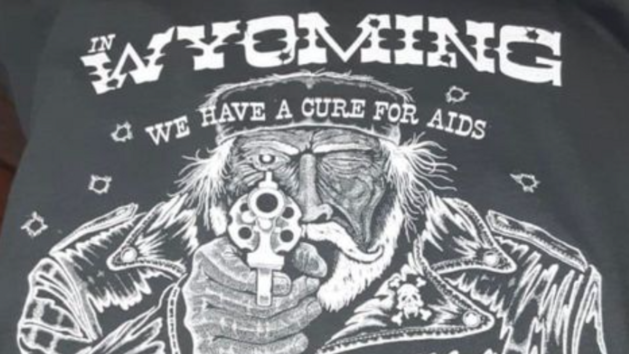Montana bar close to where Matthew Shephard was brutally beaten sold shirts supporting anti-gay violence