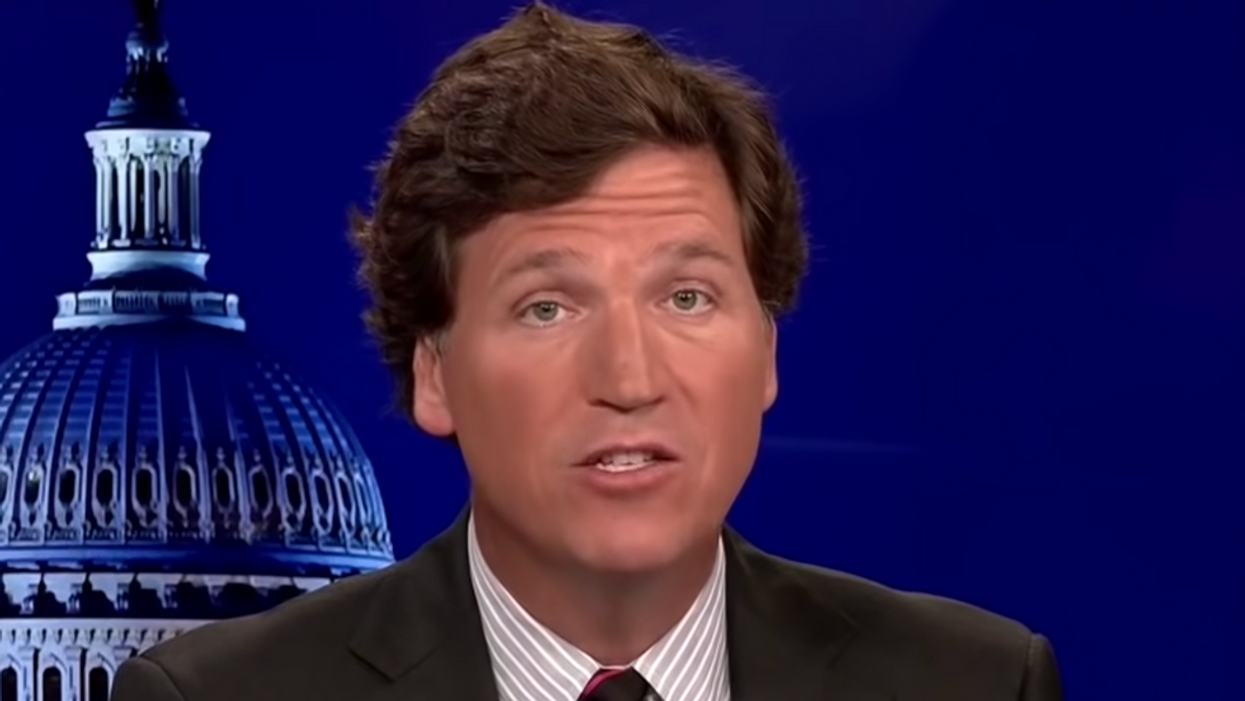 Accused white supremacist Tucker Carlson: 'I've never met a white supremacist in my entire life'