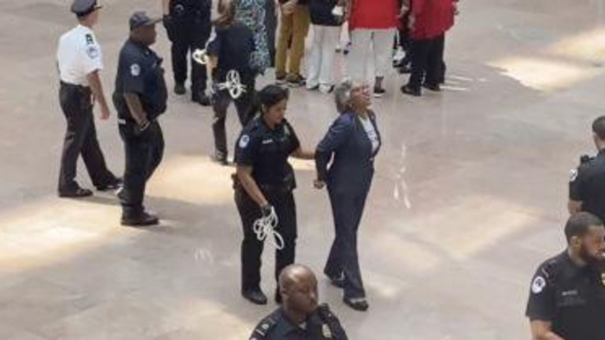 Democratic congresswoman arrested for protesting in support of voting rights: 'This is just the beginning'