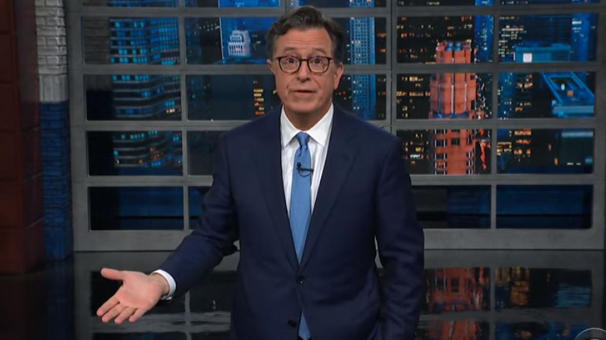 Stephen Colbert torches 'fascist' Trump following his Gen. Milley rant