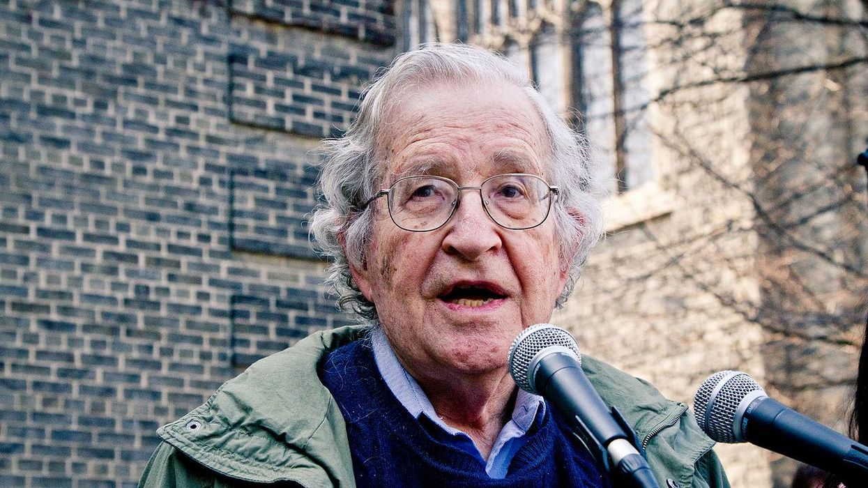 Noam Chomsky: 2024 will be an 'organized death knell for human society' if Republicans retake the White House