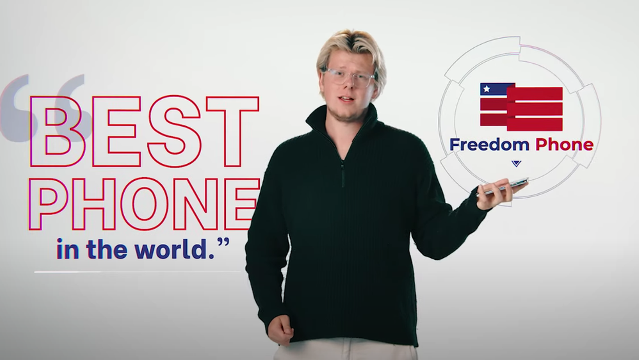 Have you seen the MAGA-inspired 'Freedom phone'? Here's why you should stay as far away from it as possible