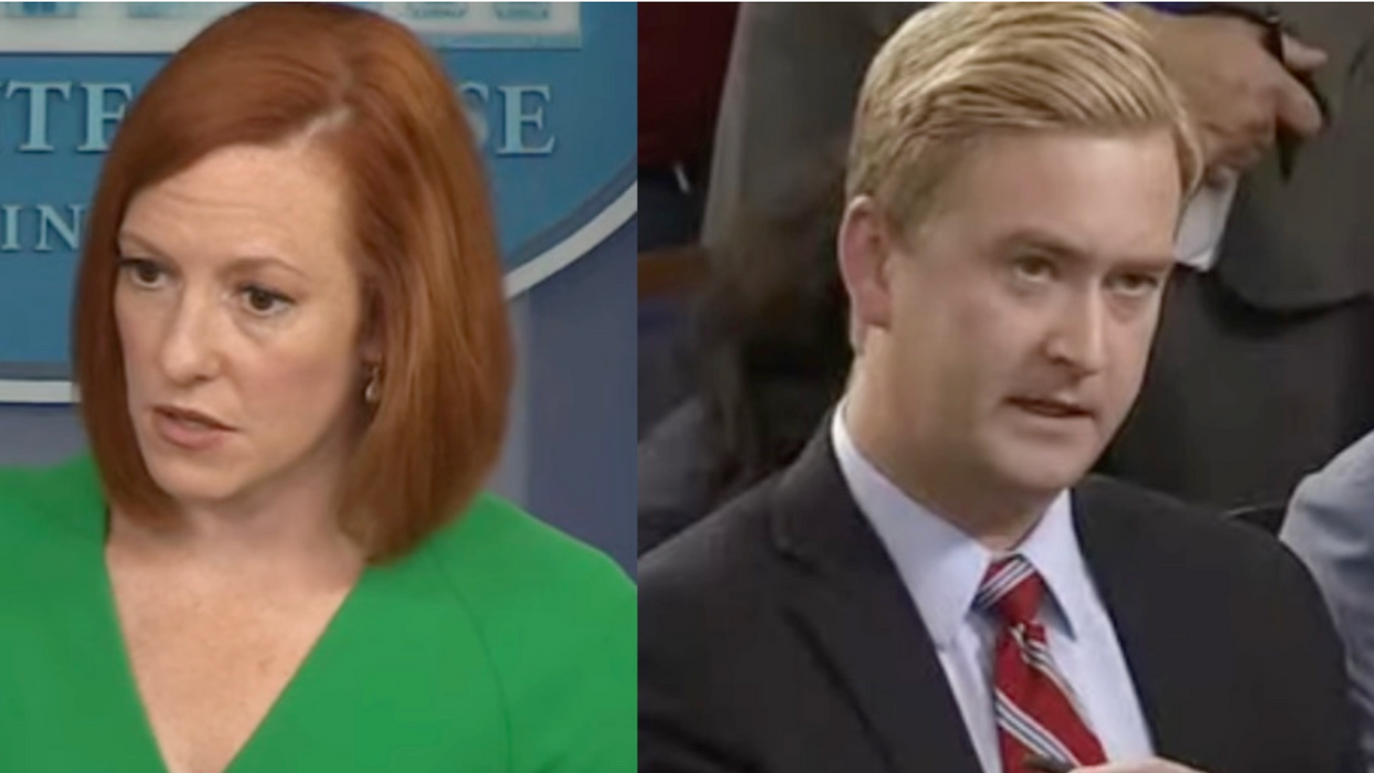 'Let me finish': Jen Psaki smacks down Fox News' 'loaded and inaccurate' claim about 'spying'