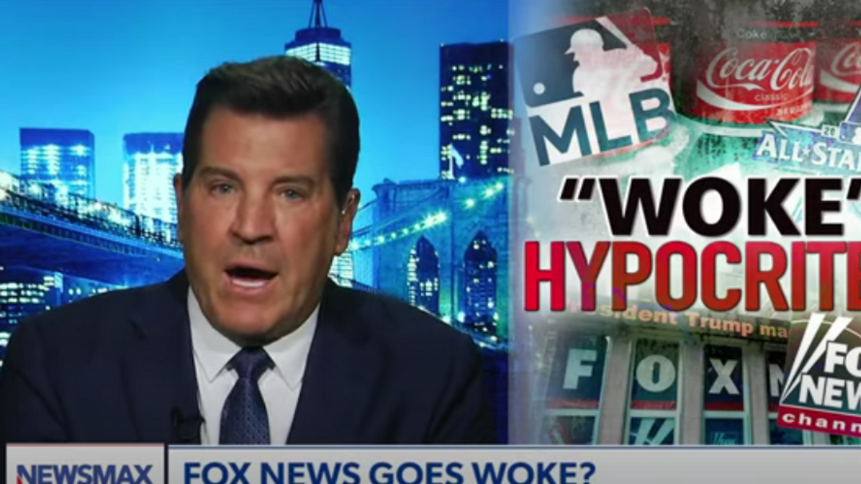 Newsmax host claims Fox News has gone 'woke' for not sounding off on MLB All-Star game relocation