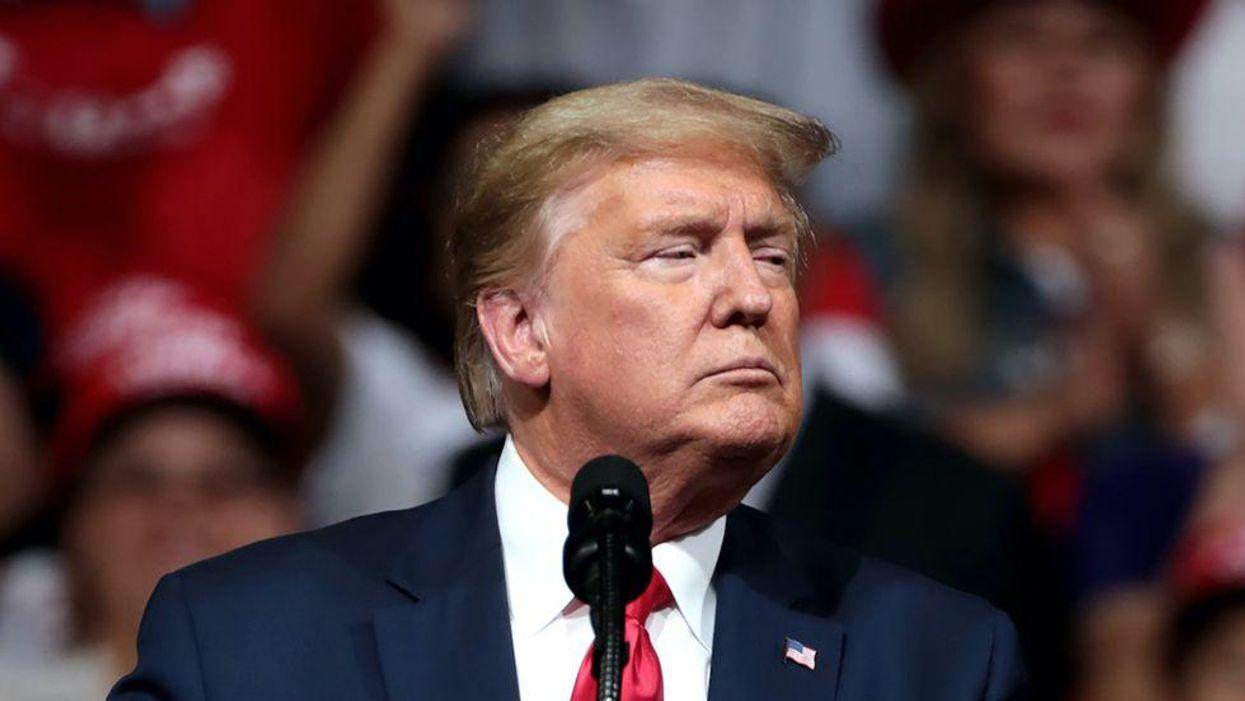 'Loser-Palooza' indeed: Trump makes himself center attention despite catastrophe in Surfside