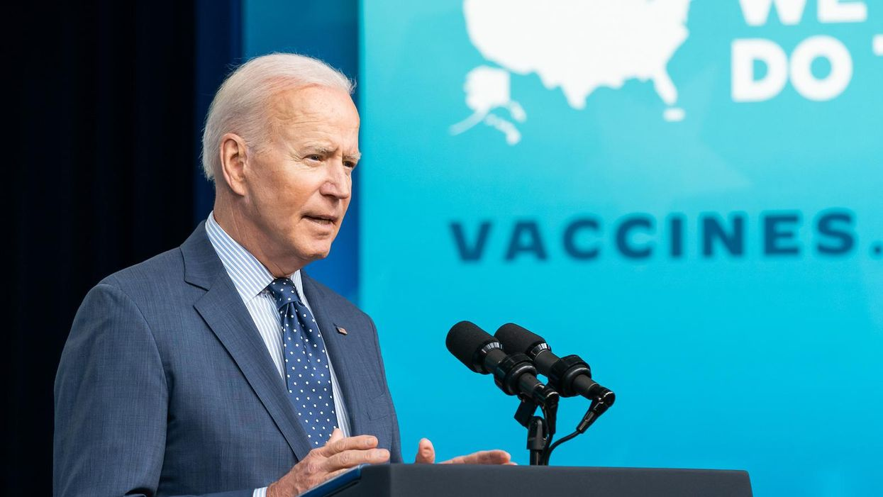 Biden didn't 'fall short' of his vaccination goal — he was sabotaged