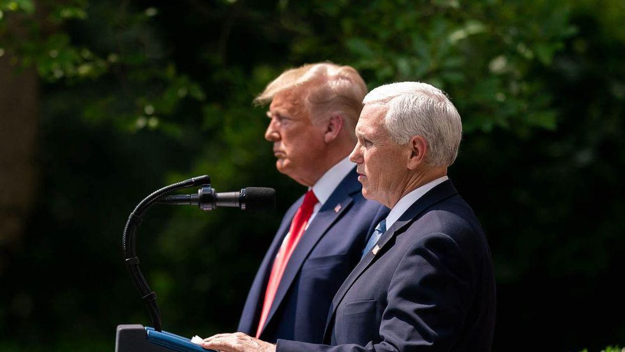 Why Mike Pence exploded at Trump — and 5 other stunning details from a new report on their finals days