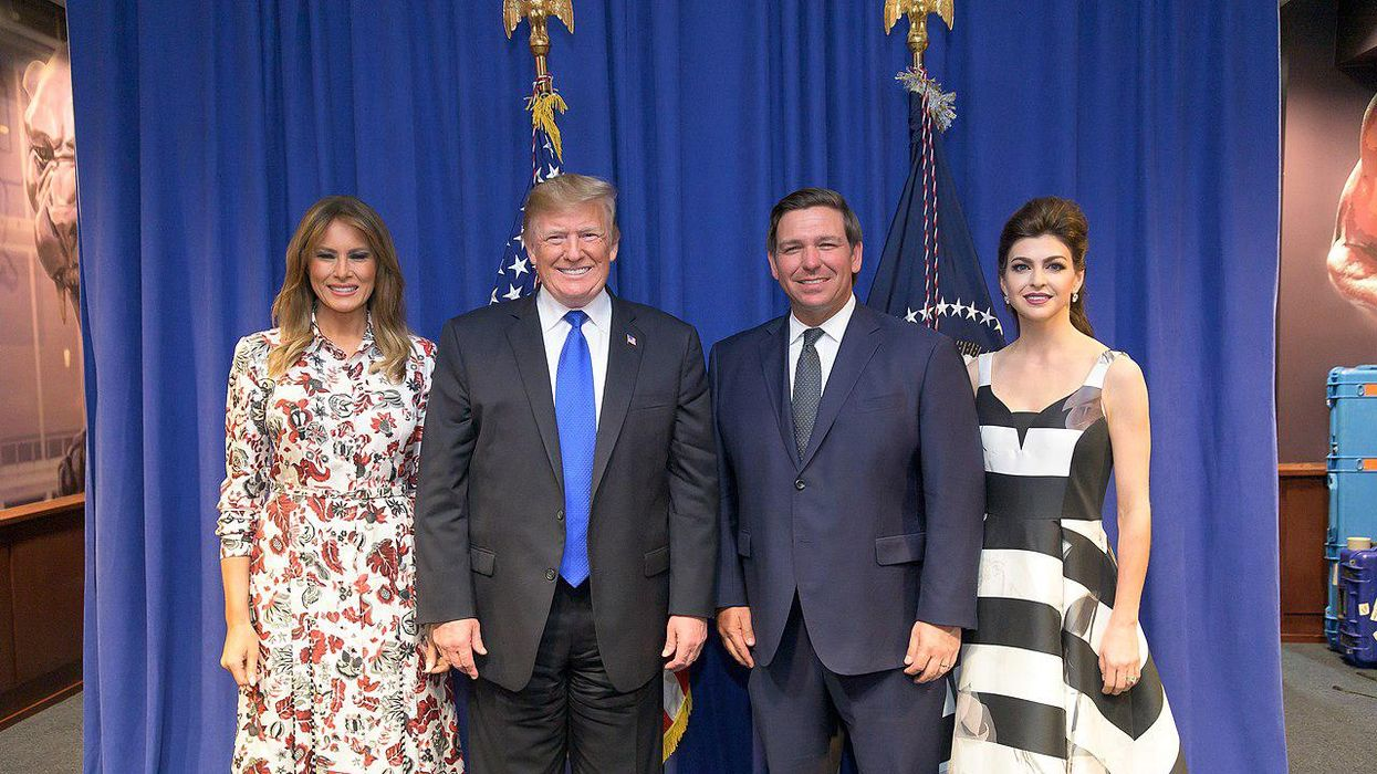 Trump and 'rightful heir' Ron DeSantis are on an 'inevitable collision course': report