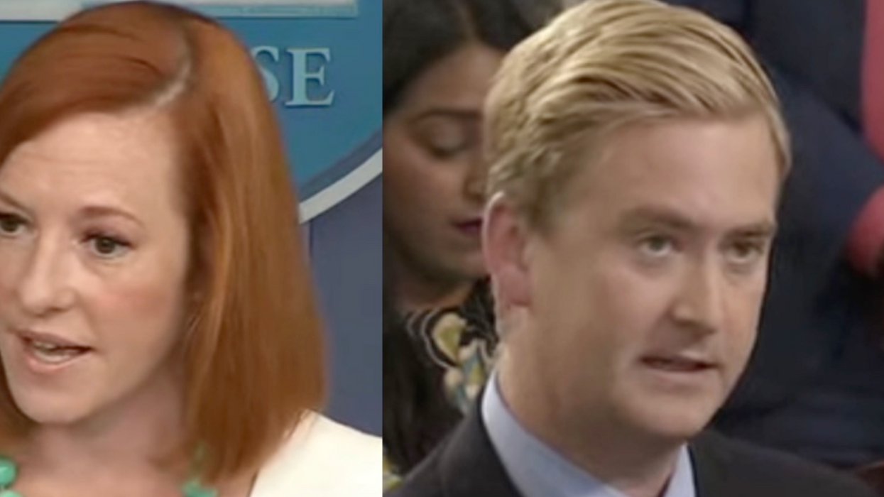 Jen Psaki is forced to explain Covid basics to a Fox News reporter who tries to play the blame game