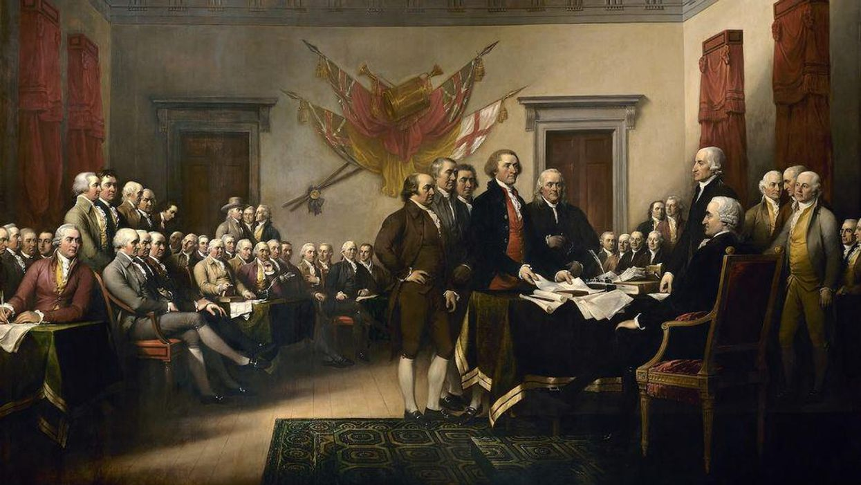 Founding Father declaration of independence
