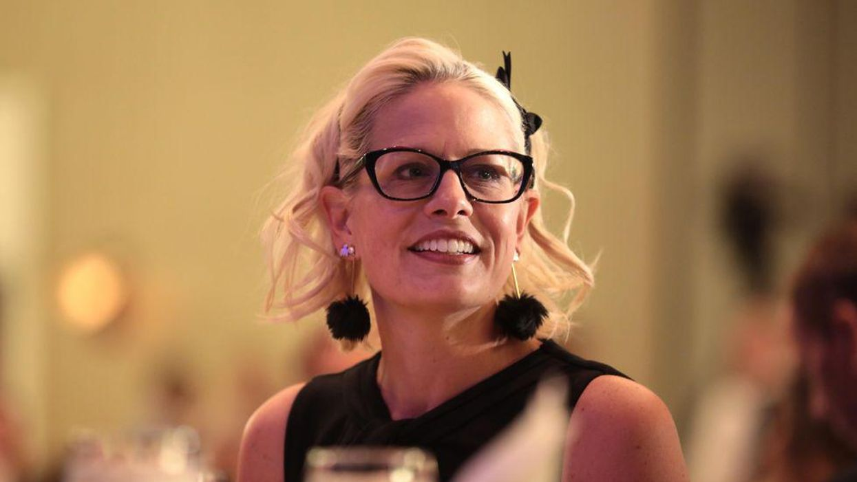 'Blistering' new ads target Kyrsten Sinema for 'lacking the political courage to do what's right'