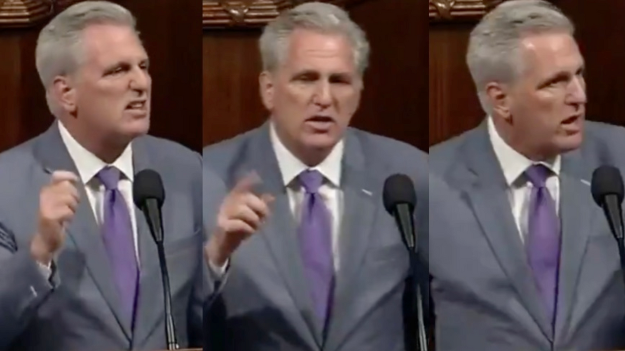 'Absolutely immature': Kevin McCarthy mocked and pilloried for mask 'mandate' meltdown