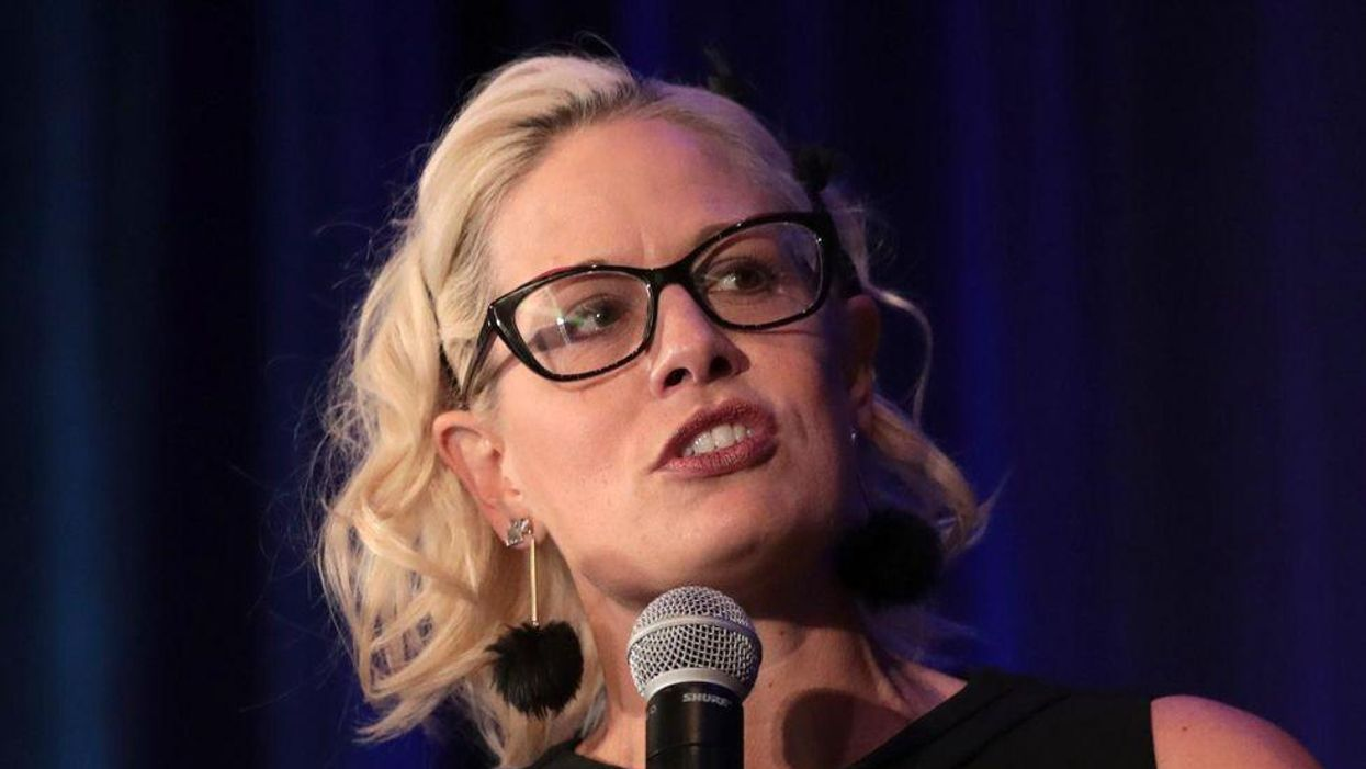 New report says Kyrsten Sinema insists on taking vacation even as Democrats rush to finish infrastructure