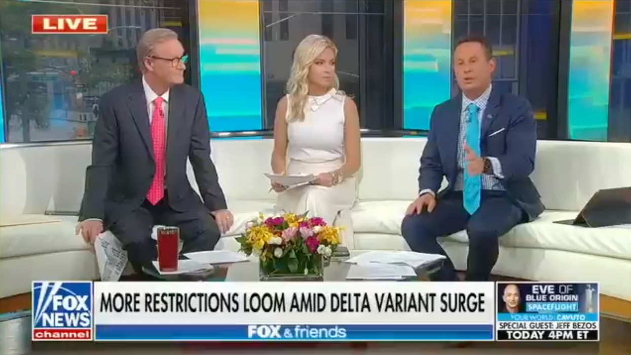 Fox News hosts clash in meltdown over vaccines: 'It's not their job to protect anybody!'