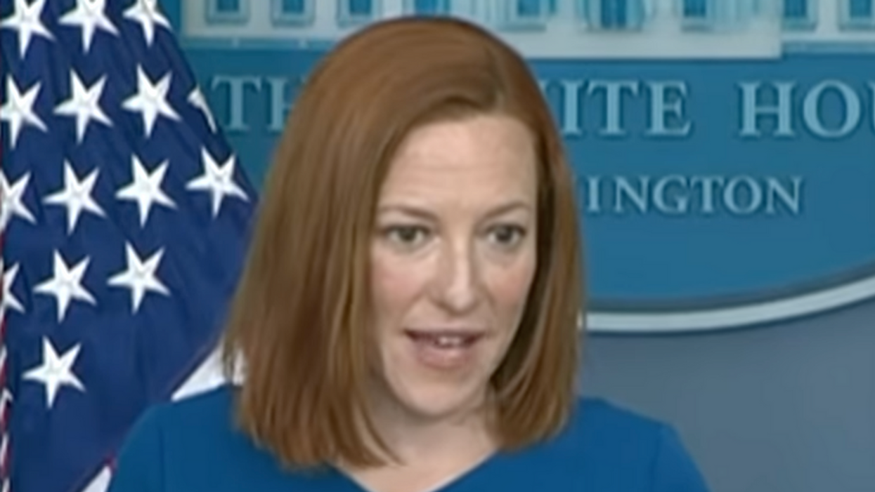 'Maybe you have that information to provide?': Jen Psaki dismantles reporter's pro-Trump anti-vaxx claim