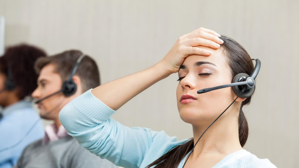 'We're not allowed to hang up': The harsh reality of working in customer service