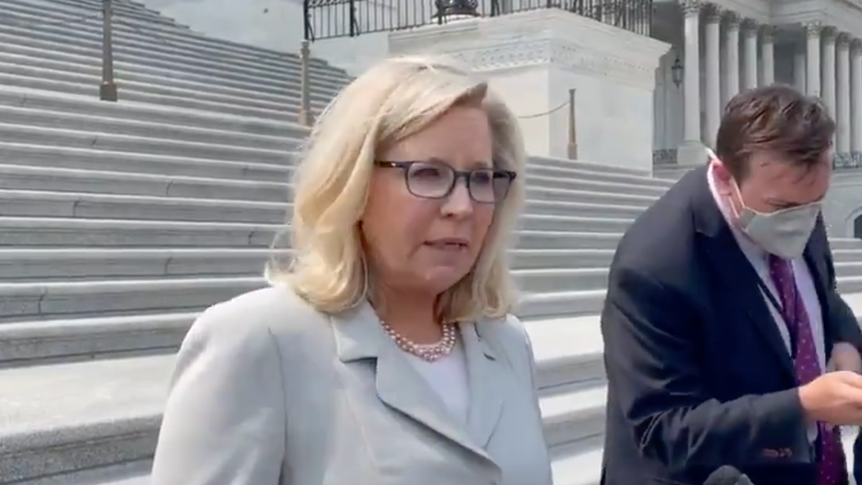 Liz Cheney slams Kevin McCarthy for his 'disgraceful' efforts to sabotage the Jan. 6 probe