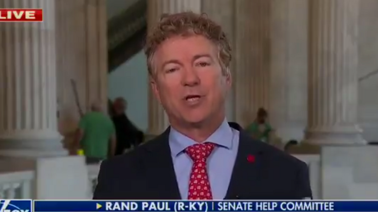 Watch: Rand Paul tells vaccinated Americans to 'mind your own business'
