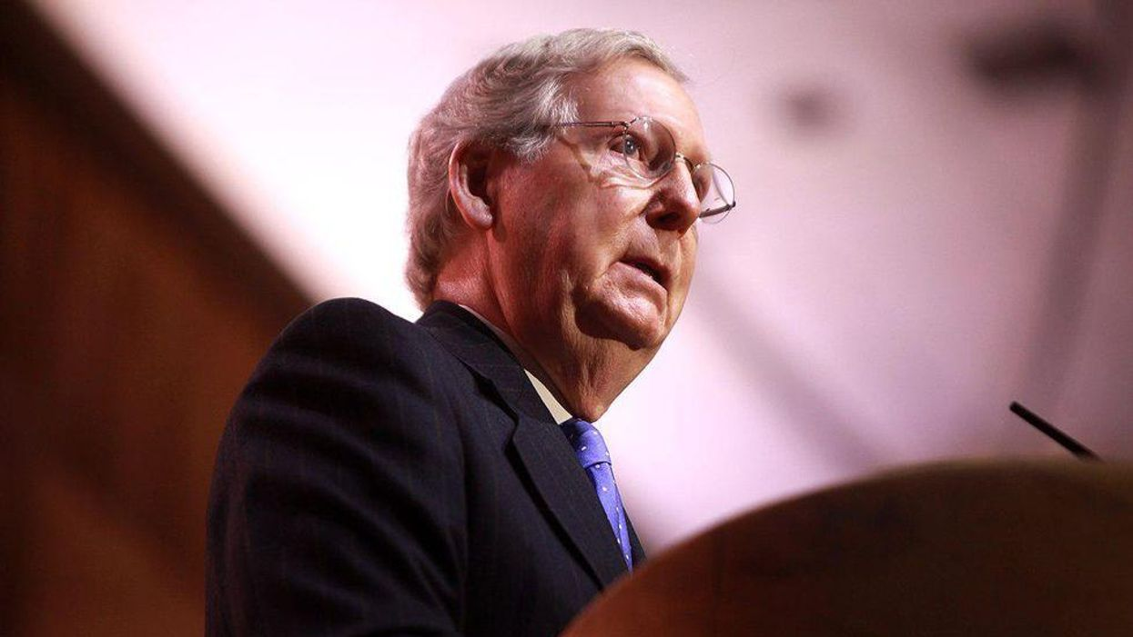 'A classic political game of chicken': Democrats make a risky bet to call McConnell's bluff