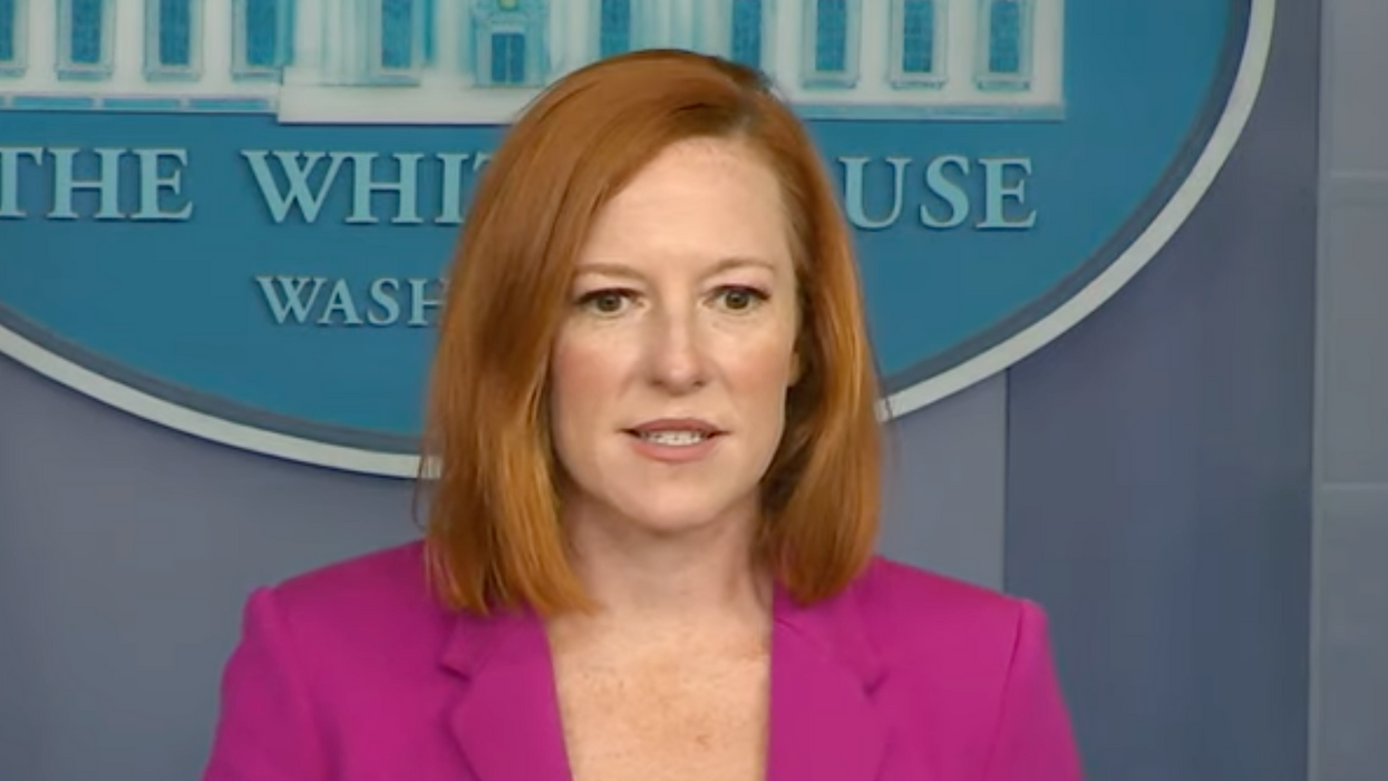 Jen Psaki hits back after Ron DeSantis lashed out at Biden as a 'power-hungry tyrant'