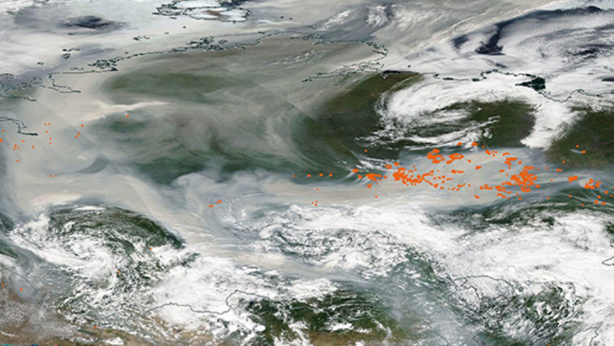 Smoke from Siberian wildfires reaches the North Pole in wake of disturbing climate report