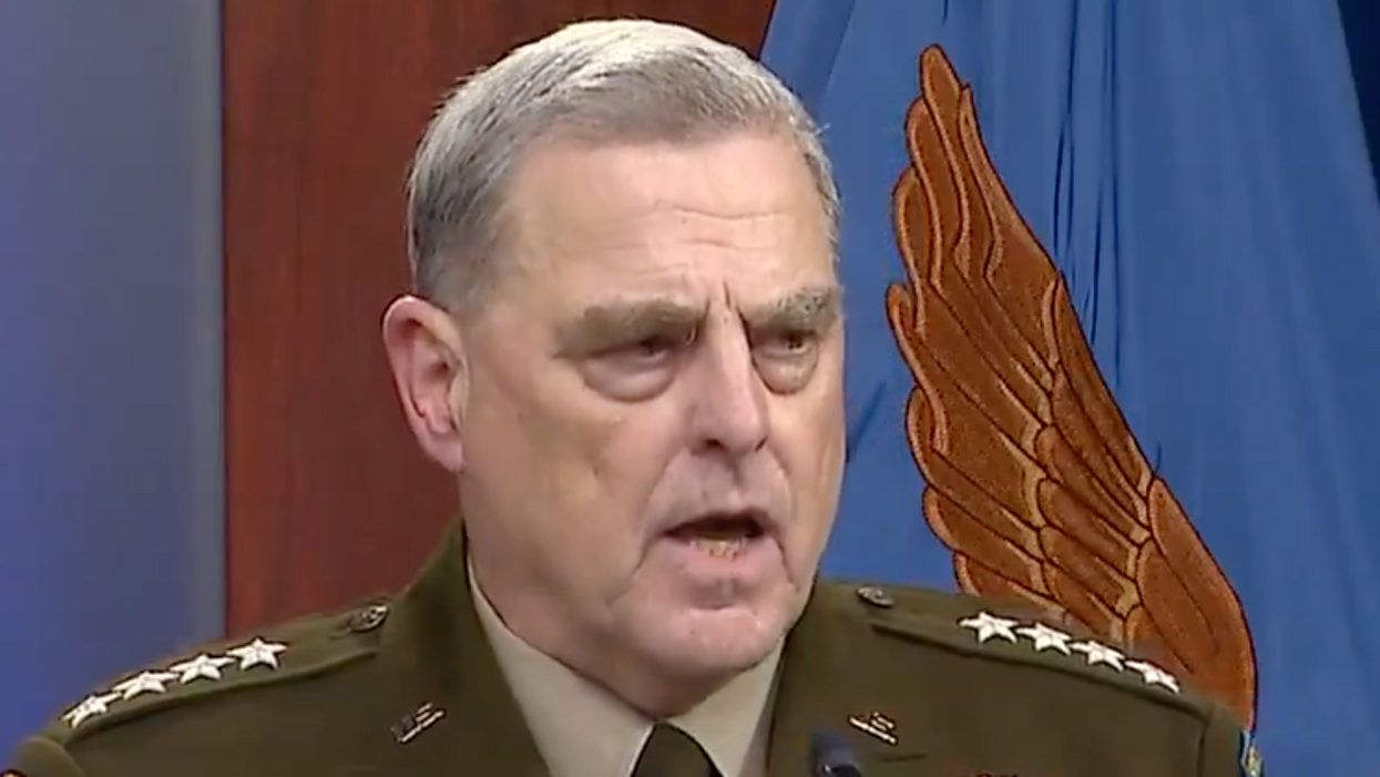 Joint Chiefs chairman dismisses reports that the US knew the Afghan government would rapidly collapse