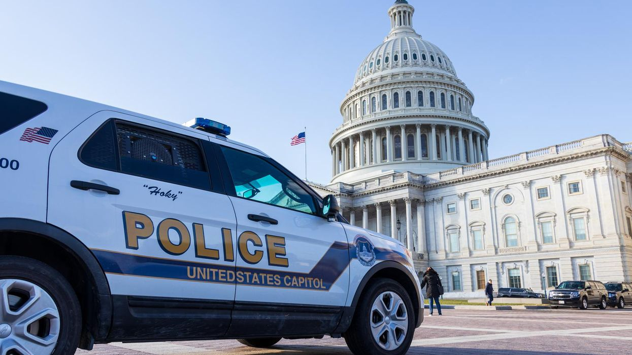 'Active bomb threat investigation': Capitol Police negotiating with suspect who says he has tank of propane