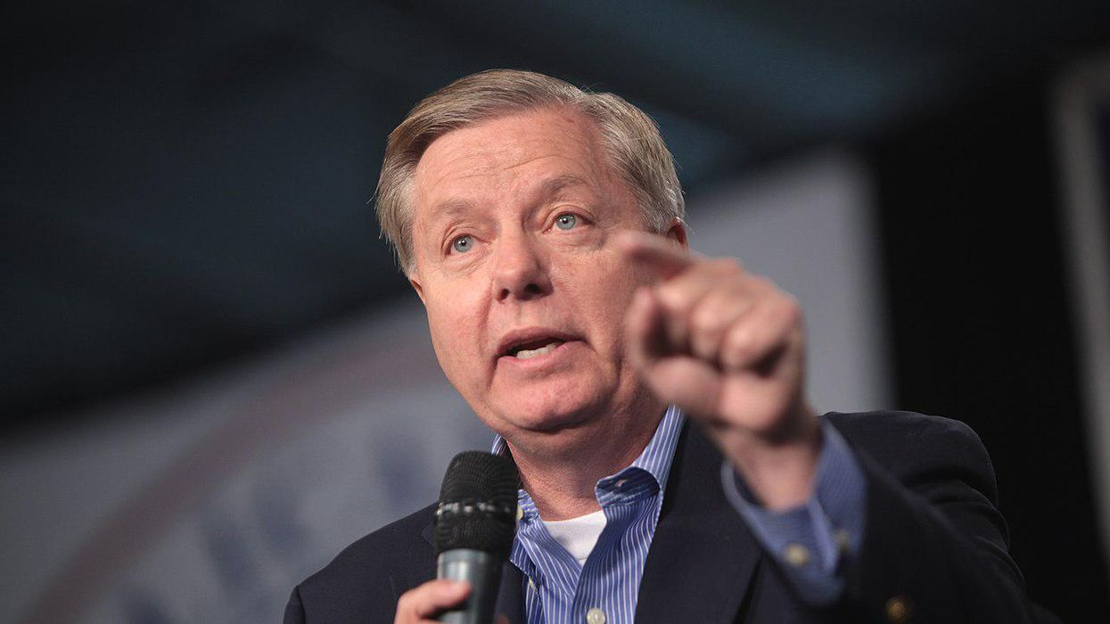 Lindsey Graham lambasted for 'bad faith' threat of possible Biden impeachment