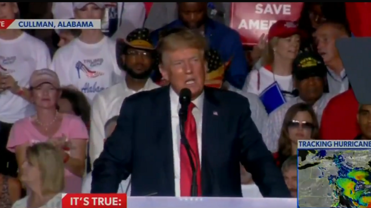 'They've lost control of the mob': Trump booed at rally after telling supporters to 'take the vaccines'