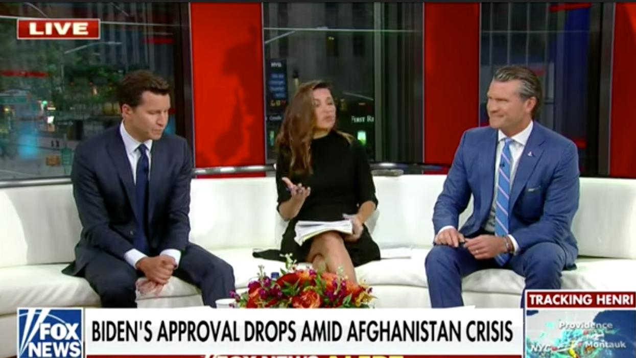'She failed the country': Fox News host's bizarrely explains why Afghanistan is Jill Biden's fault
