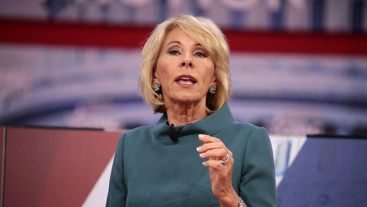 Anti-masking and lies about critical race theory are all part of the Betsy DeVos agenda