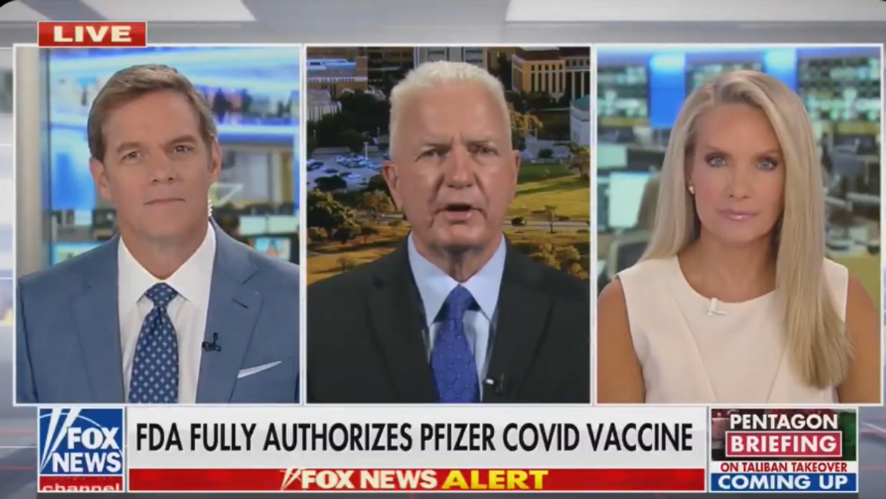 Fox News hosts seem worried about the FDA's COVID vaccine approval — but can't get their stories straight