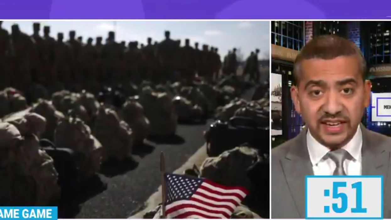 Watch: Mehdi Hasan rips war hawks for lecturing world on Afghan exit