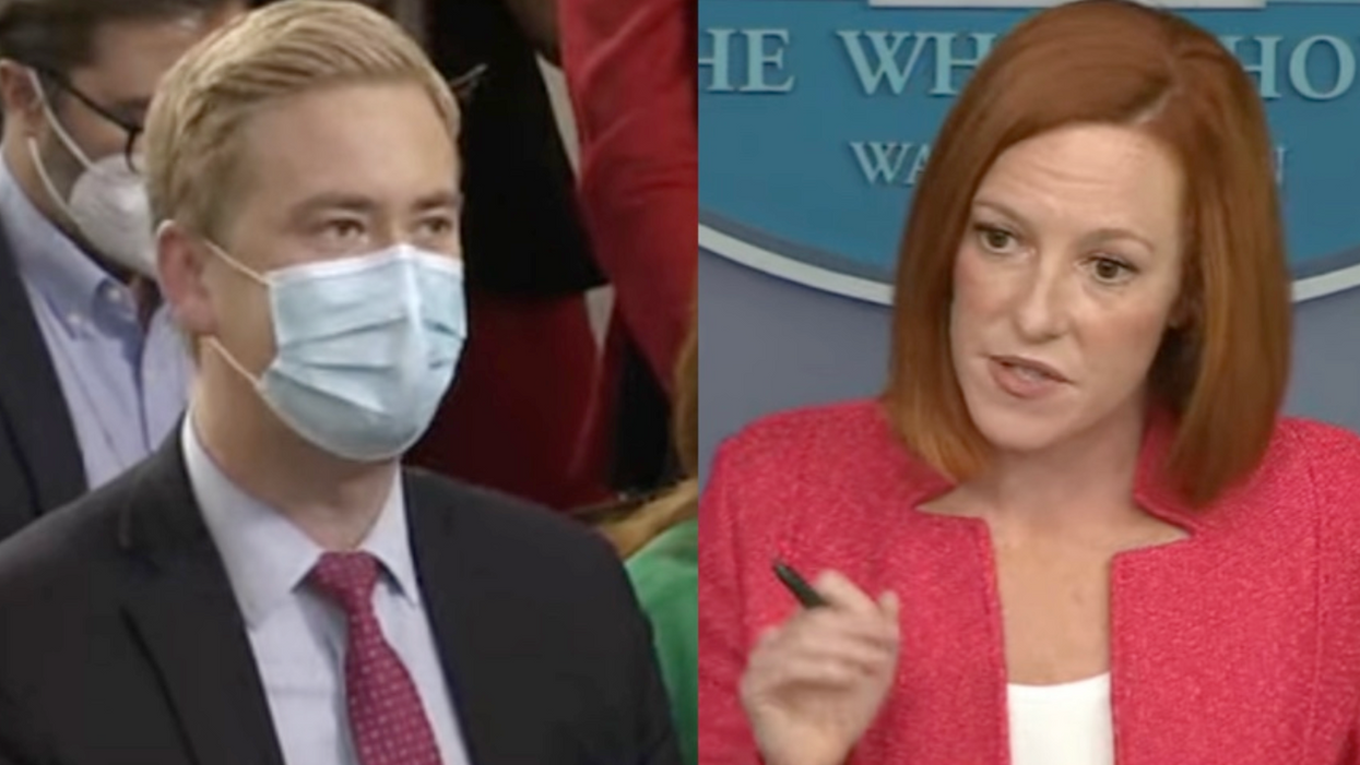 Jen Psaki calls Fox News' Peter Doocy 'irresponsible' for saying Americans are 'stranded' in Afghanistan
