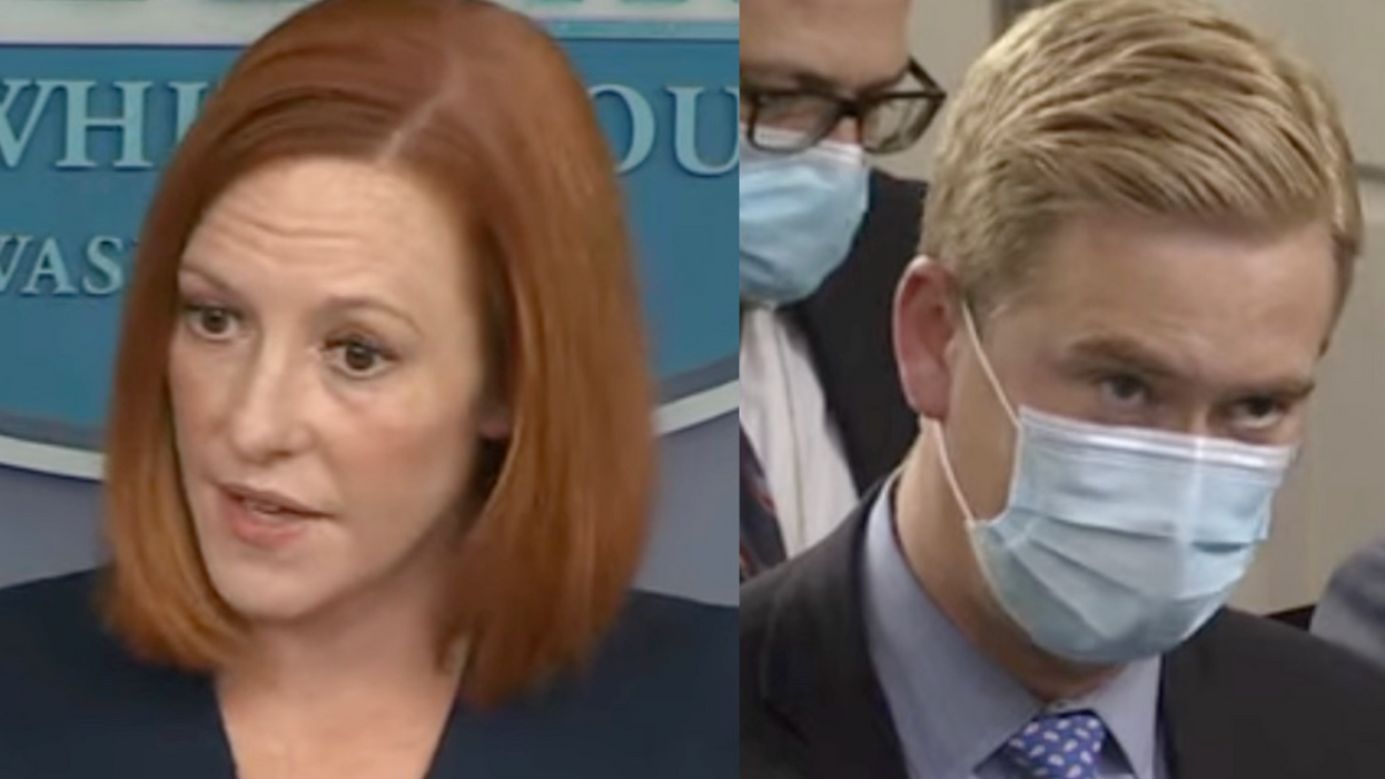 'Let me explain to you': Jen Psaki clashes with Peter Doocy over the administration's Afghanistan airlift