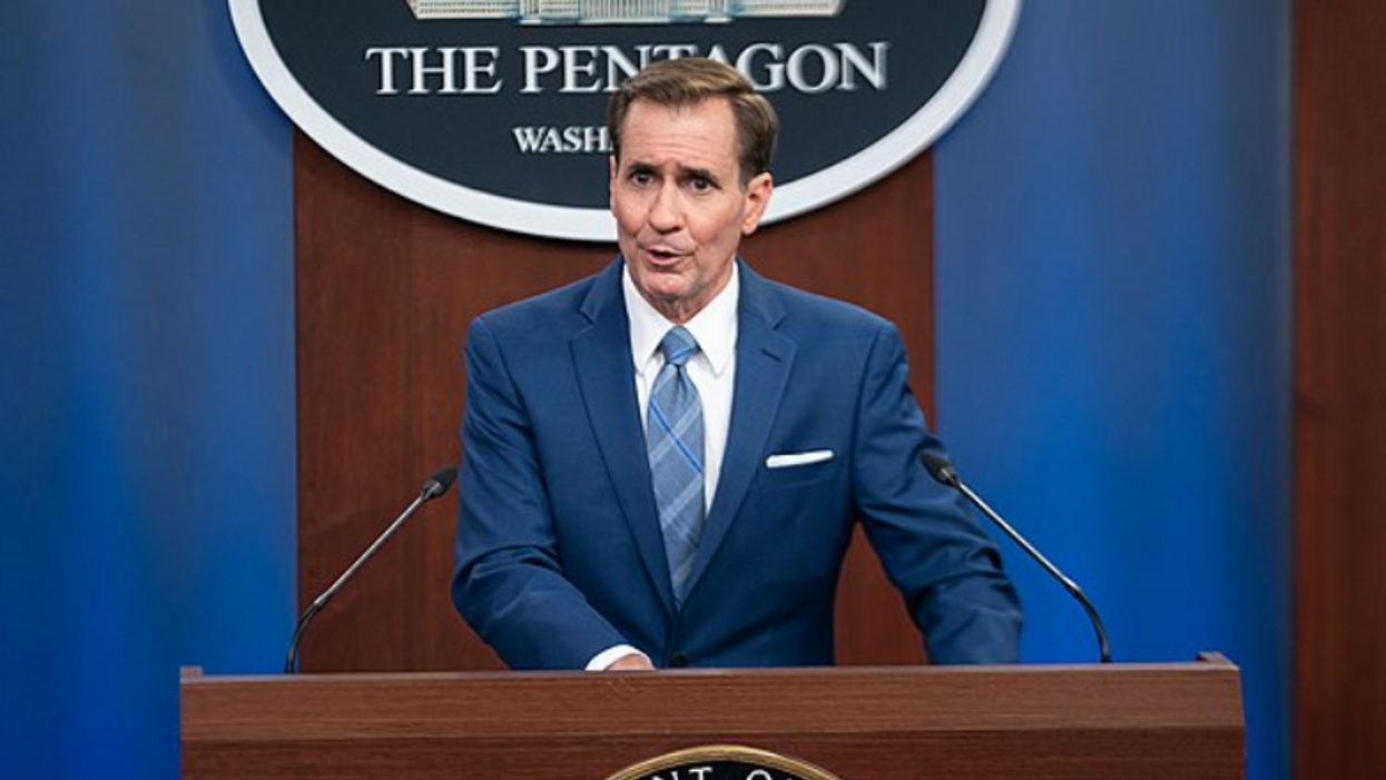 Pentagon spox sounds off on lawmakers' stunning decision to charter a flight to Afghanistan amid chaos in Kabul