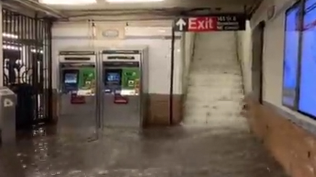 'NYC subway has fallen': 'Wild scenes' captured as Hurricane Ida dumps record rain