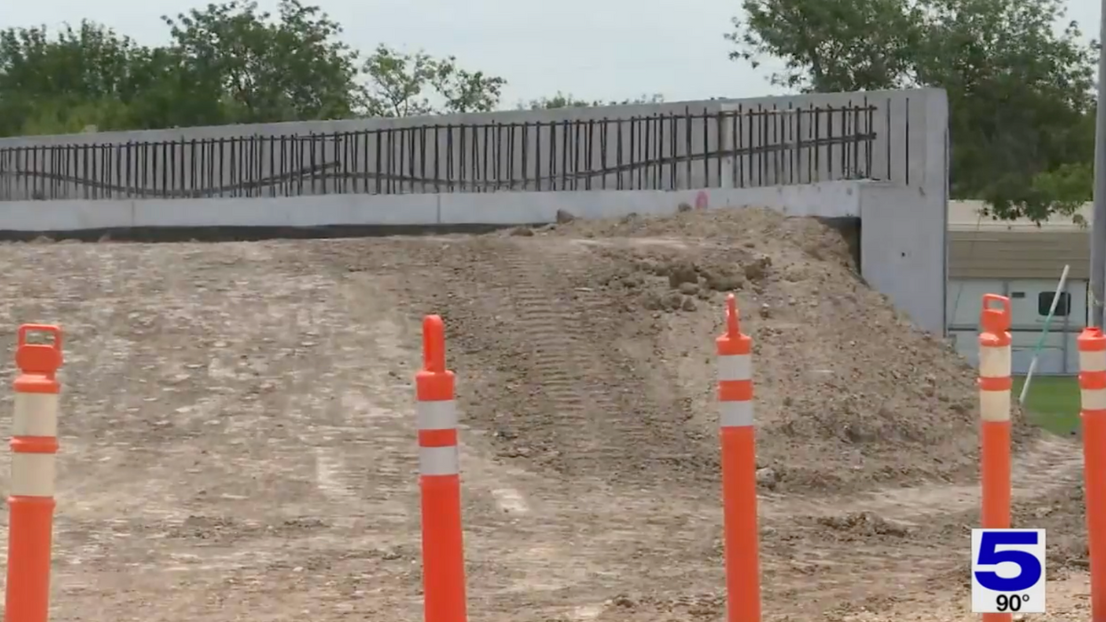 The federal government calls it a levee. South Texas immigration advocates see a border wall