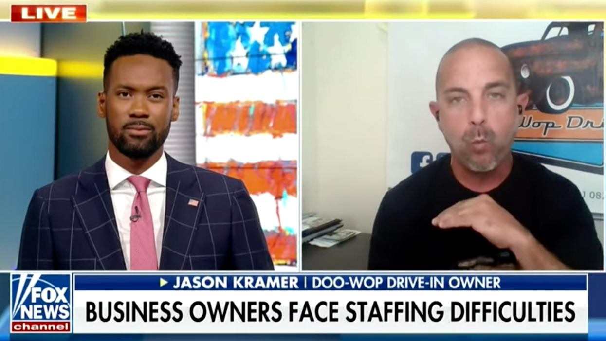 Desperate anti-Biden business owner tells Fox News: 'I'm willing to compromise and give you a living wage'