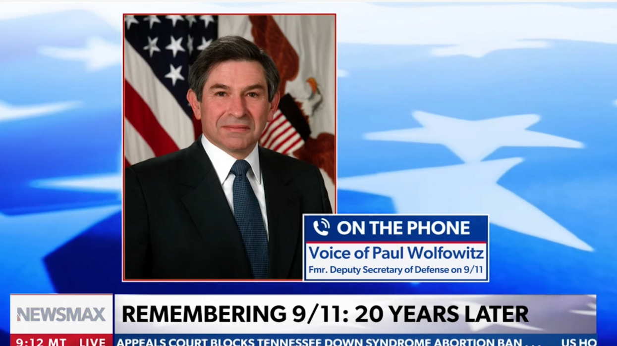 Newsmax tricked by pranksters into fake Paul Wolfowitz interview — twice