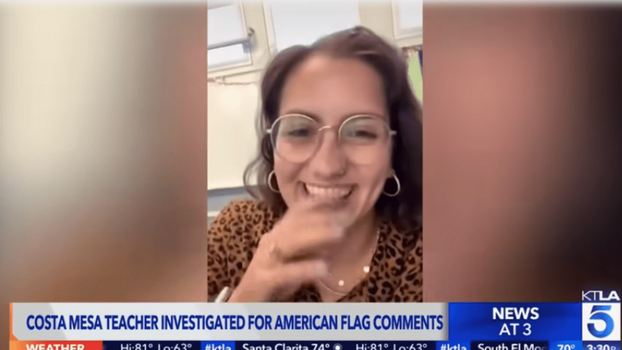 Teacher removed from classroom after video joking about pledging allegiance to Pride flag went viral