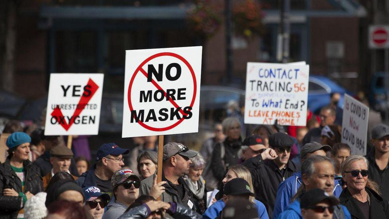 Psychologist and criminologist explain why anti-maskers and anti-vaxxers present a real threat of violence