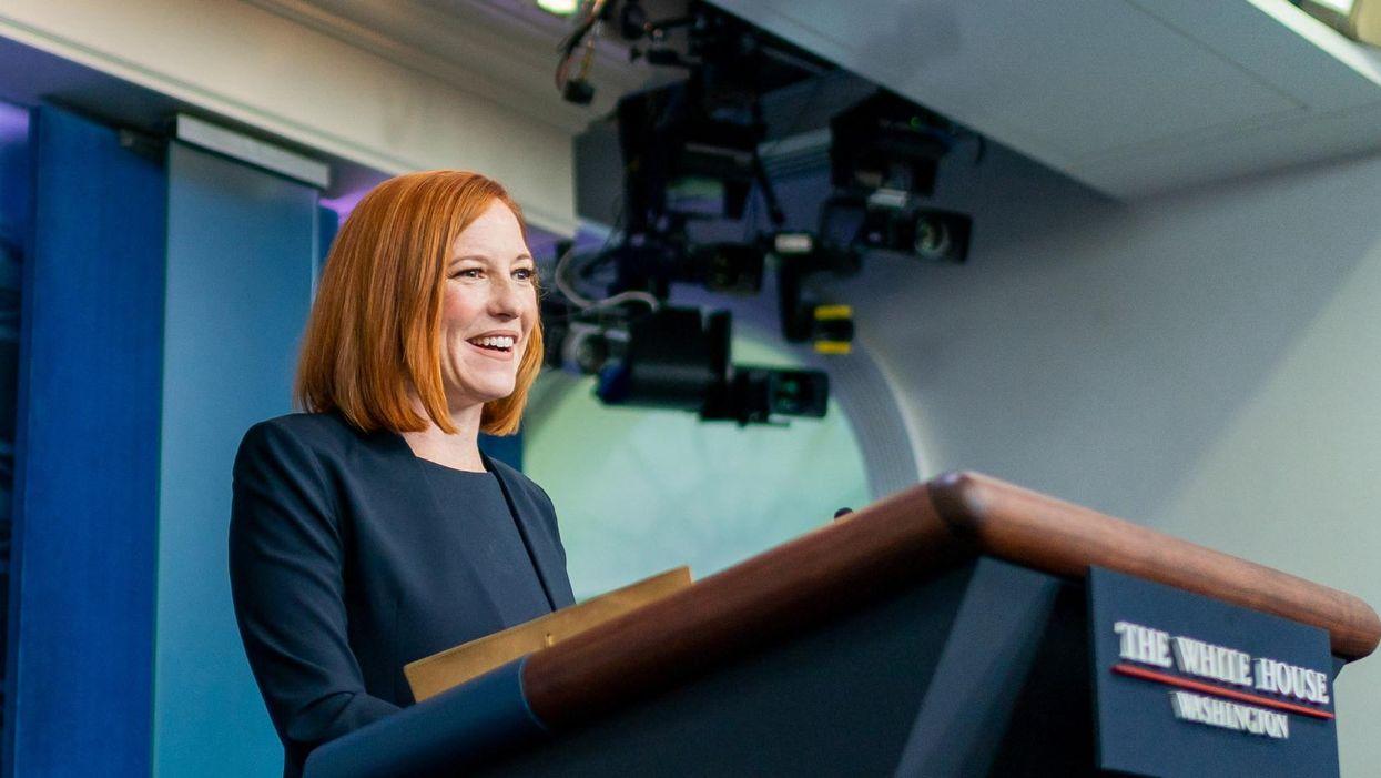 Watch: Jen Psaki expertly dismantles Gov. Abbott's abortion ban promise to 'eliminate all rapists'
