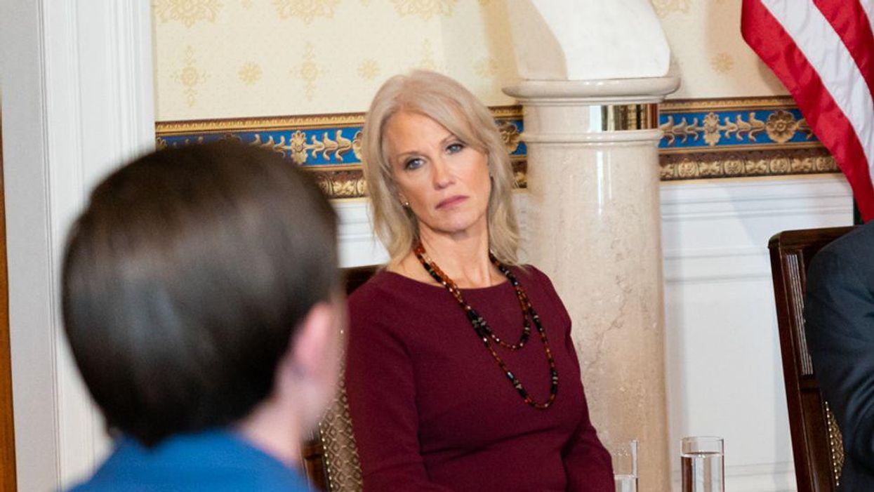 Kellyanne Conway refuses to quit Air Force Academy board — and makes a ridiculous demand of Biden instead